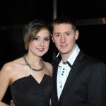 Enjoying the night with Joseph Murphy from Mayo and Emma Cawley from Sligo.
