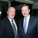 Mayo Asc President Joe Murphy is pictured with Taoiseach Enda Kenny.