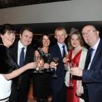 Celebrating the Mayo Asc London's golden jubilee were Caroline Gallagher, Nick Taylor, Kathleen Slattery, Brendan Gallagher, Mary O'Brien and Pat Slattery.